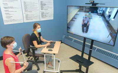 La téléréadaptation au Service d'aides techniques du Centre de réadaptation Lethbridge-Layton-Mackay